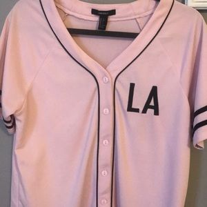 Baseball button up jersey
